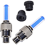 Car/Bike Wheel Tyre Valve Cap LED